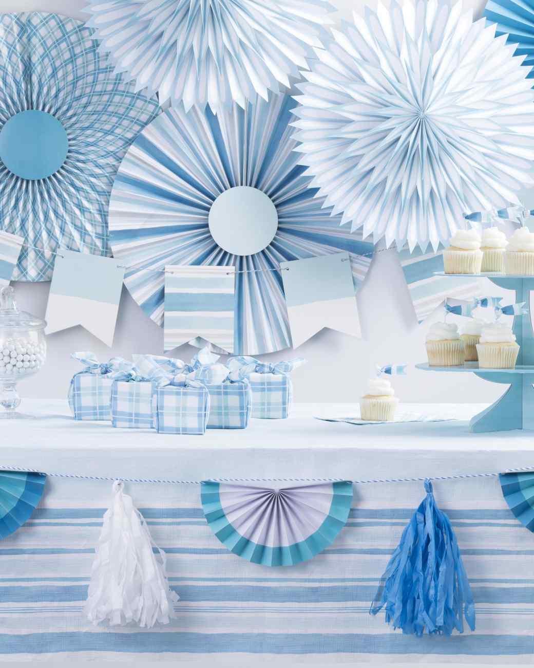celebrations crafts blue ombre