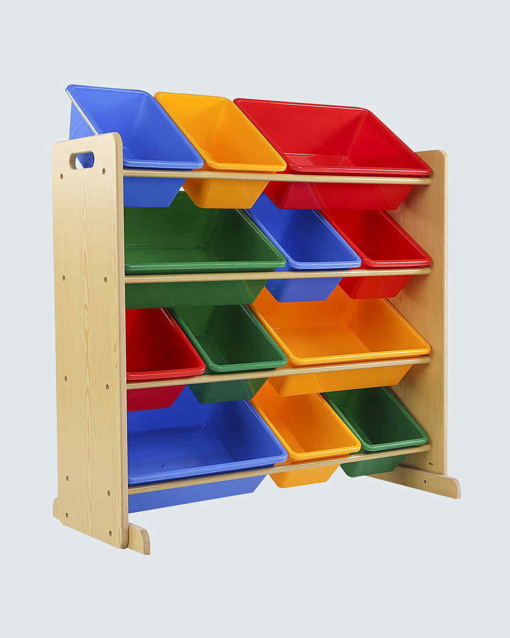 kids toy storage organizer with bins