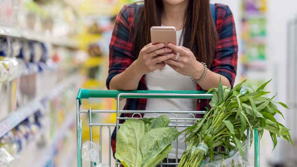smart phone app grocery shopping