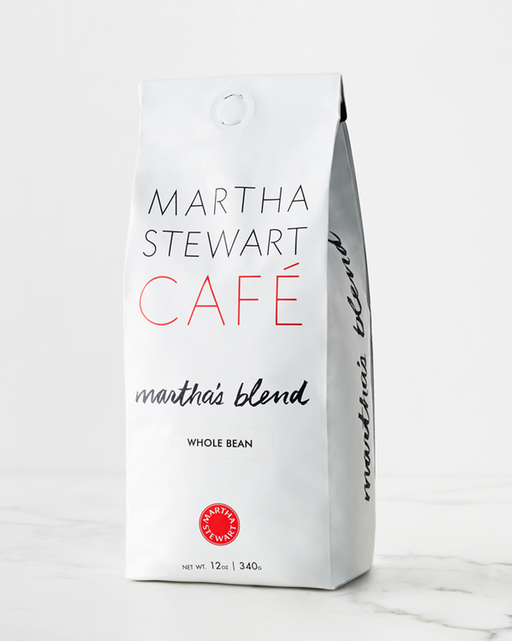Martha's signature blend from the Martha Stewart Cafe coffee line