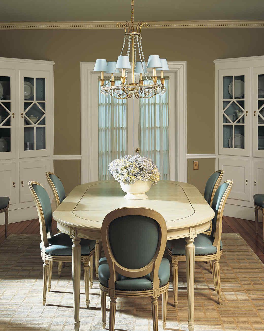a dining room transformed see how 5 little design ideas gave this rh marthastewart com martha stewart dining room colors martha stewart dining room table