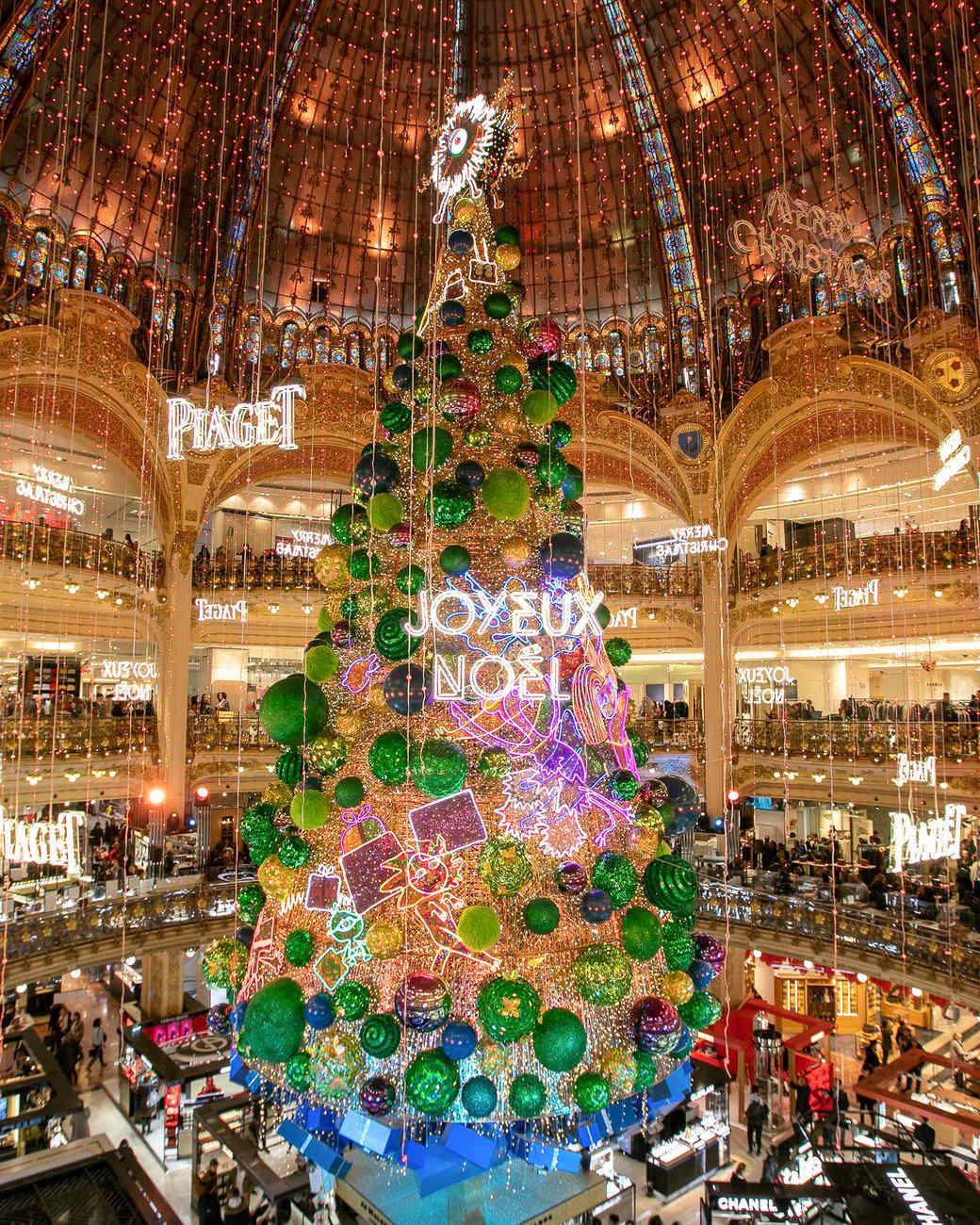 Les Galeries Lafayette Christmas Tree 2018