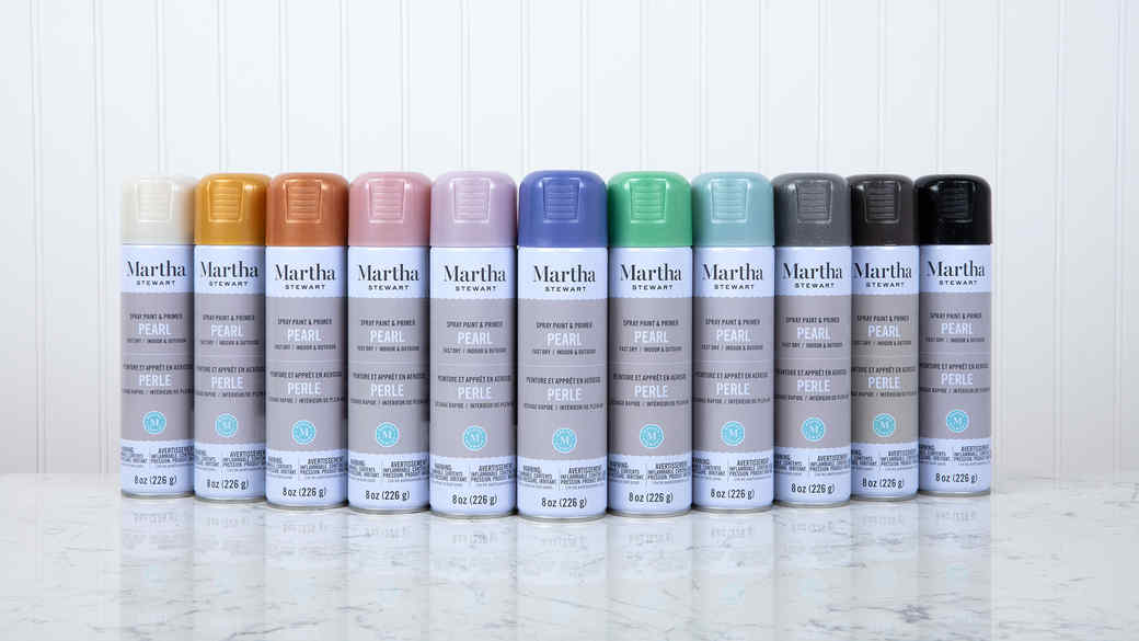 Martha Stewart Duncan Paint Spray Paint Collection