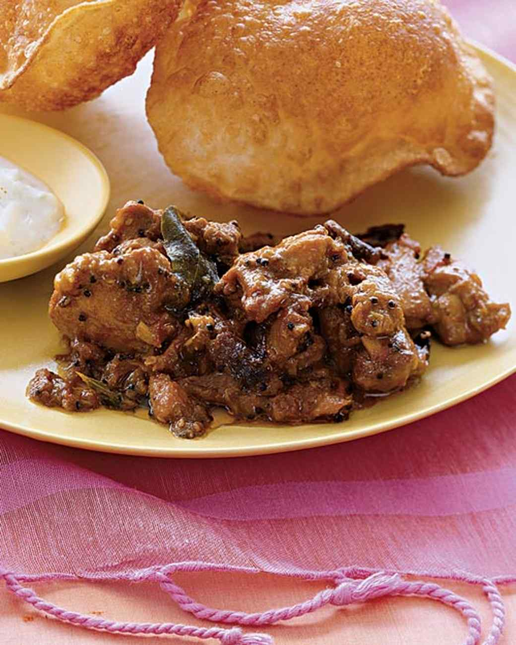 Southern Indian Chicken Curry with Mustard Seeds