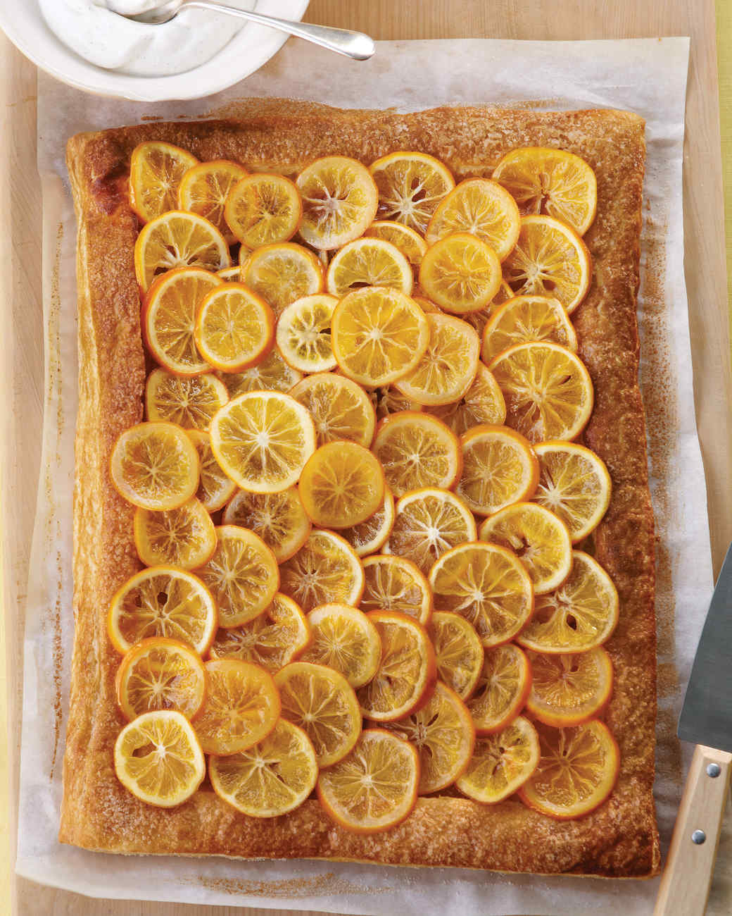 Meyer Lemon Pastry