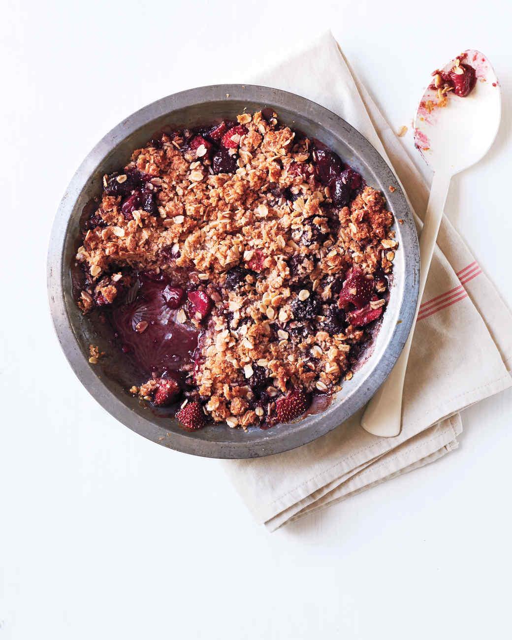 20 Easy Diabetes Friendly Desserts Martha Stewart