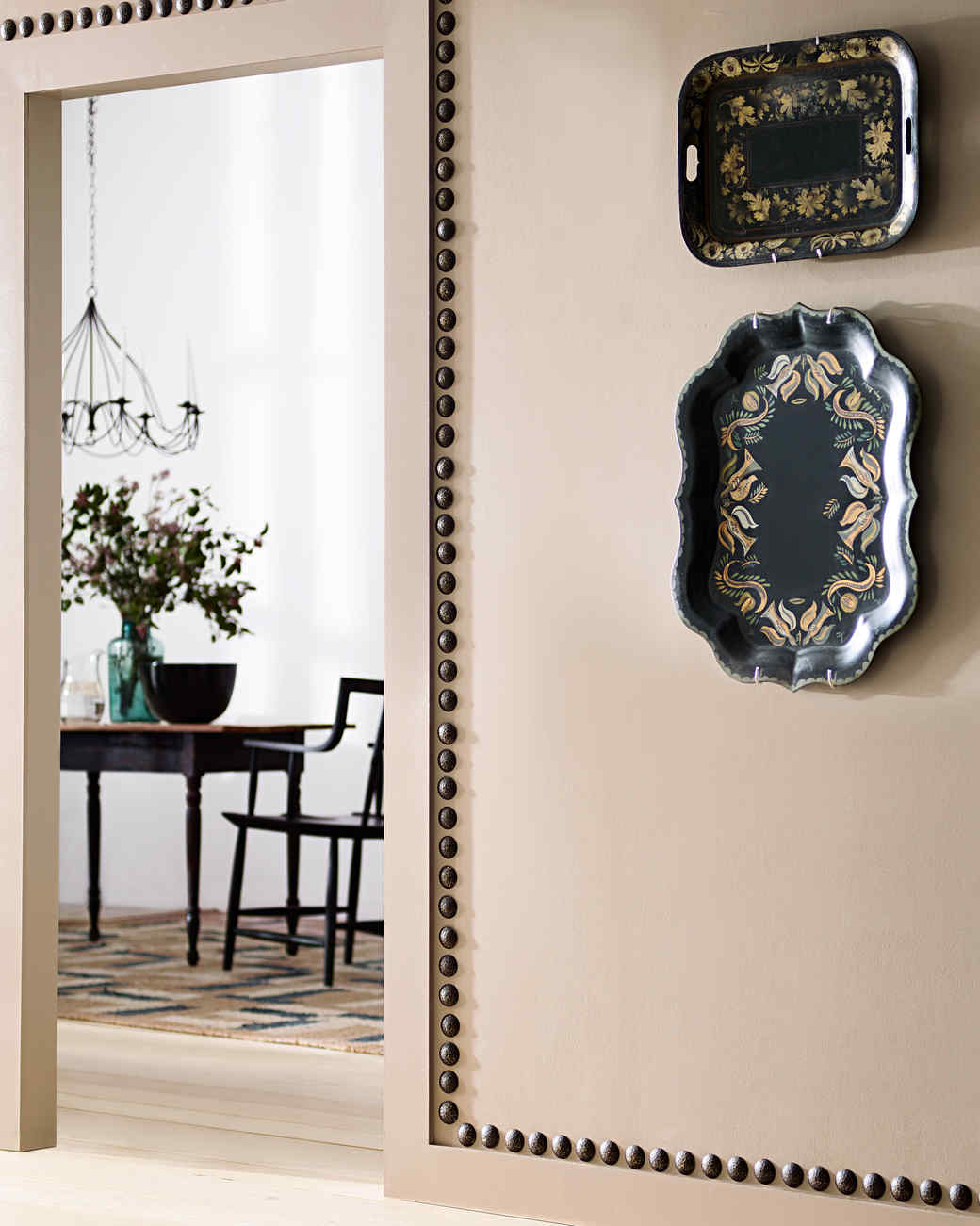 embellished decor doorway