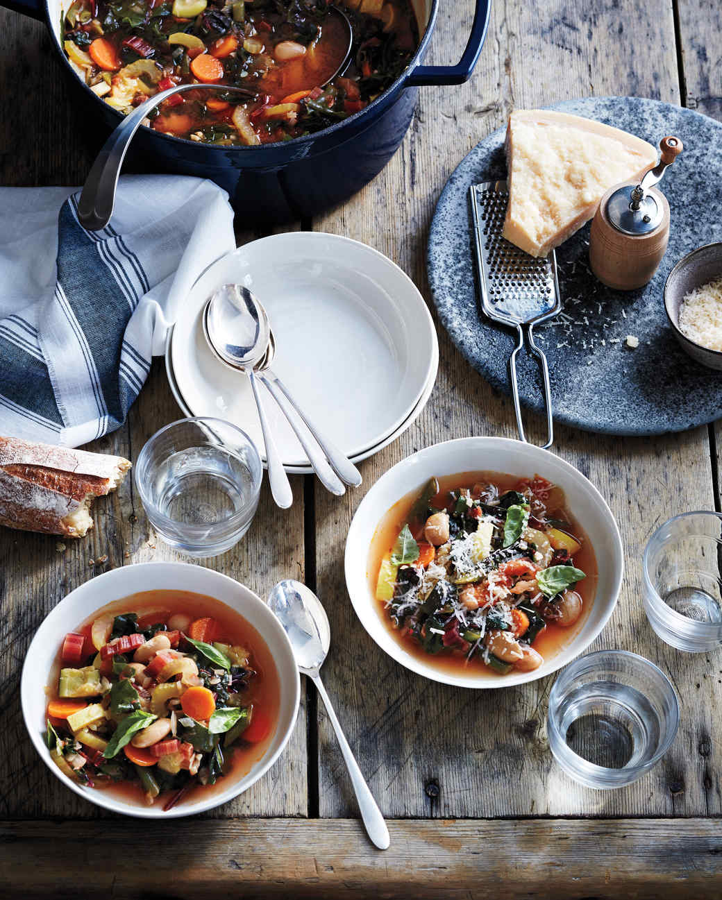 Summer Vegetable Soup: Minestrone Soup Recipes