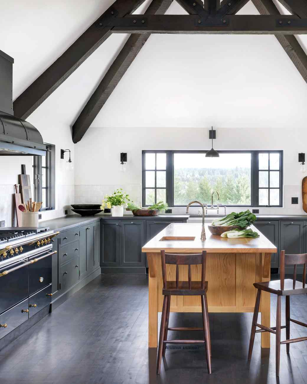 handcrafted oregon kitchen