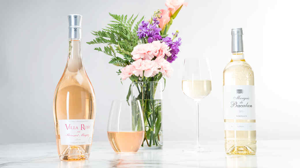 easter wine from martha stewart wine co