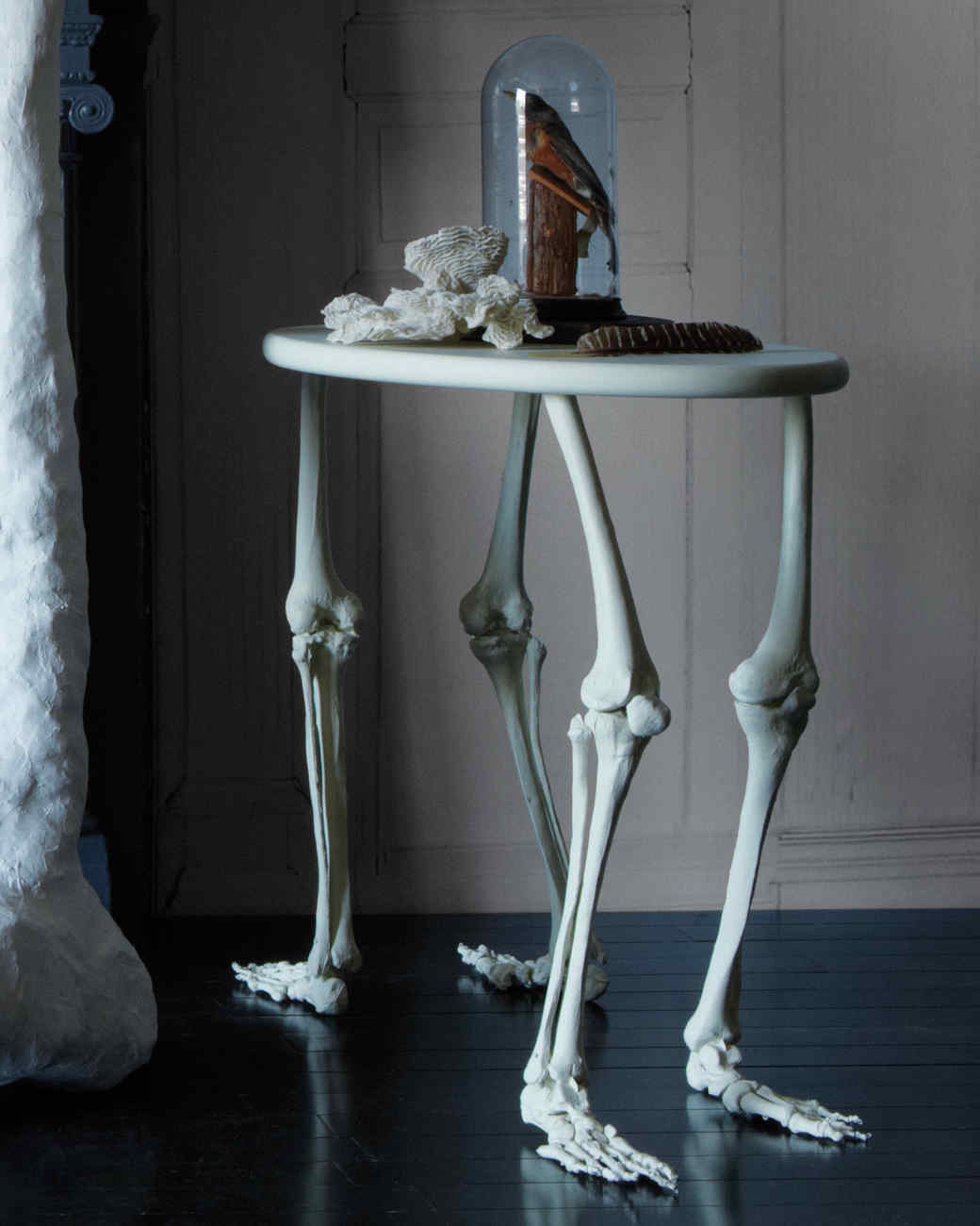 Decorative Skeleton Bone Table