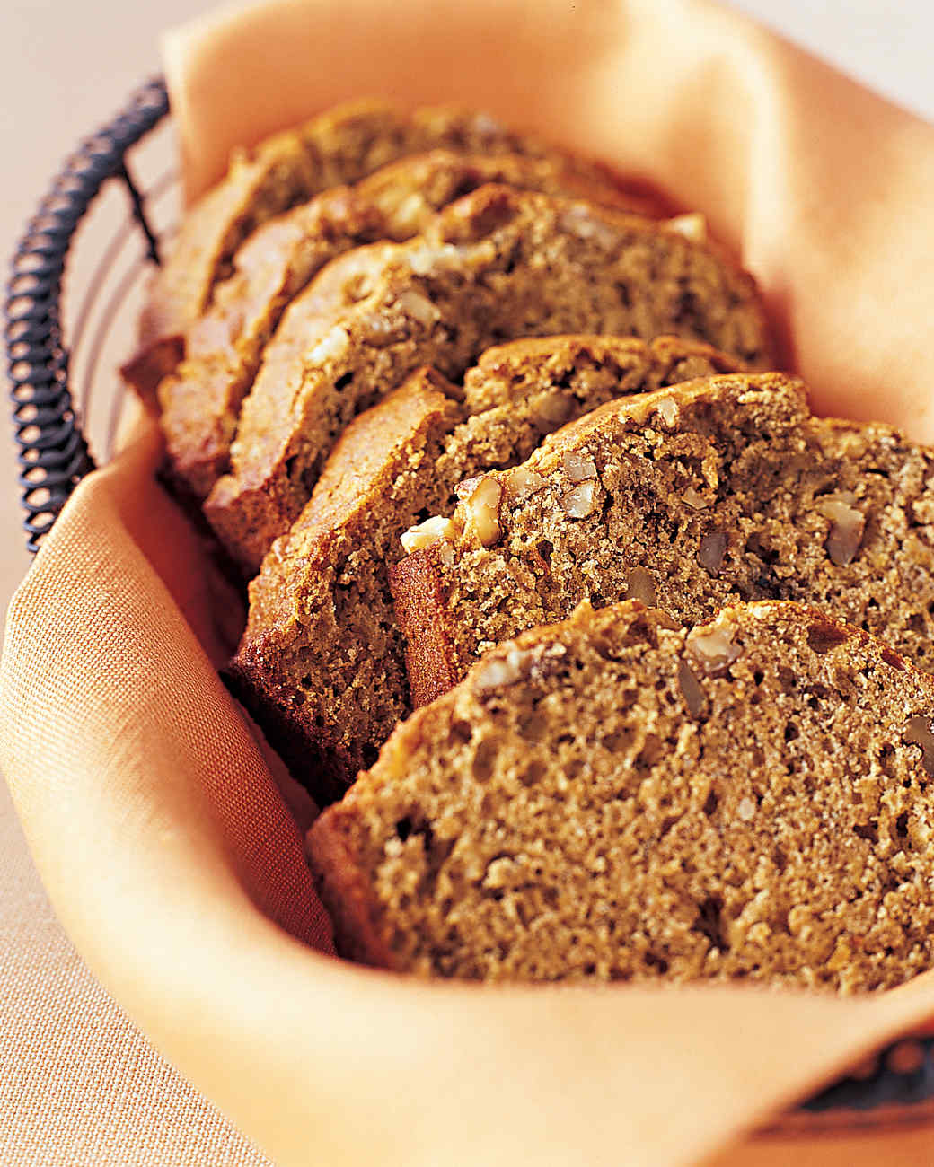 Banana Bread with Walnuts and Flaxseed
