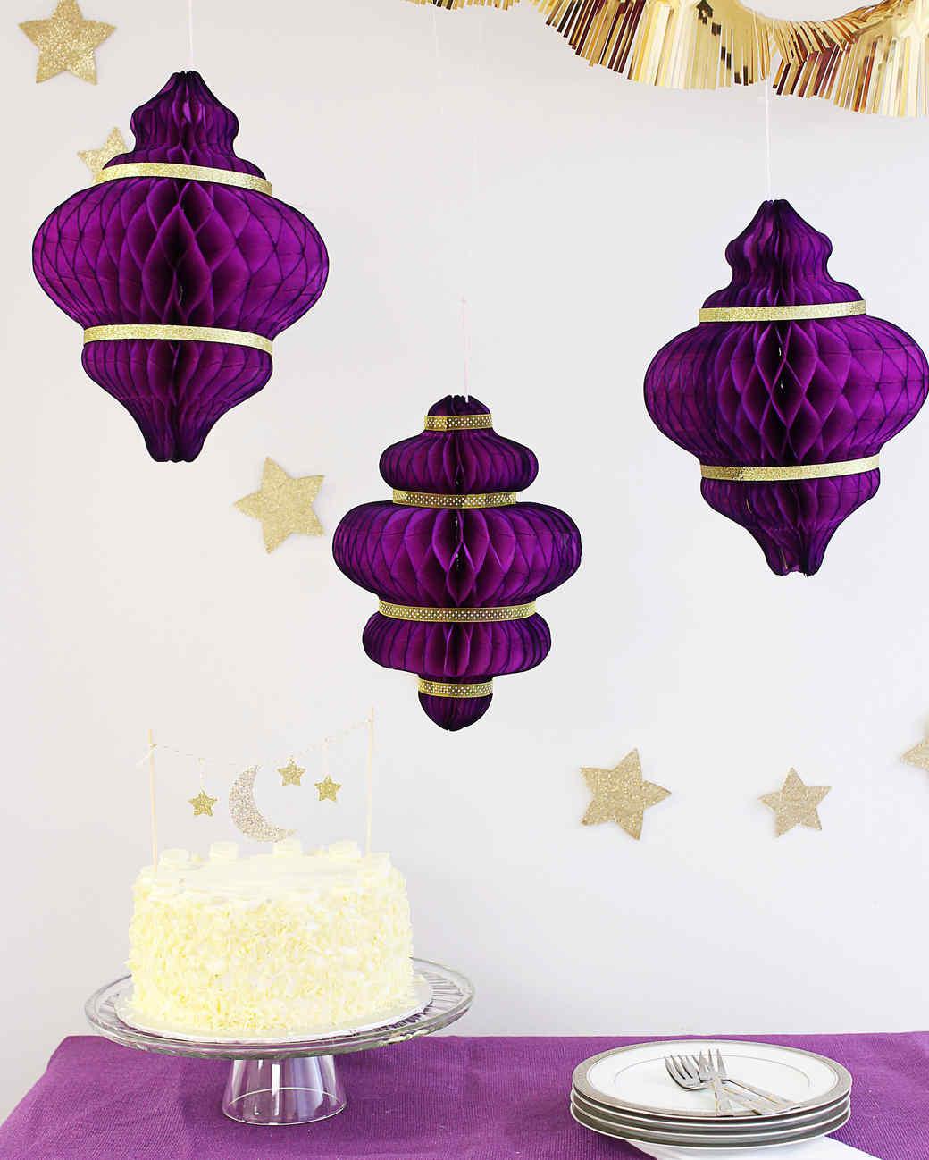 Fantastic Diy Eid Al-Fitr Decorations - eid-al-fitr-paper-lanterns-and-cake-topper-0617_vert  Trends_576592 .jpg?itok\u003dP0JaIxS8