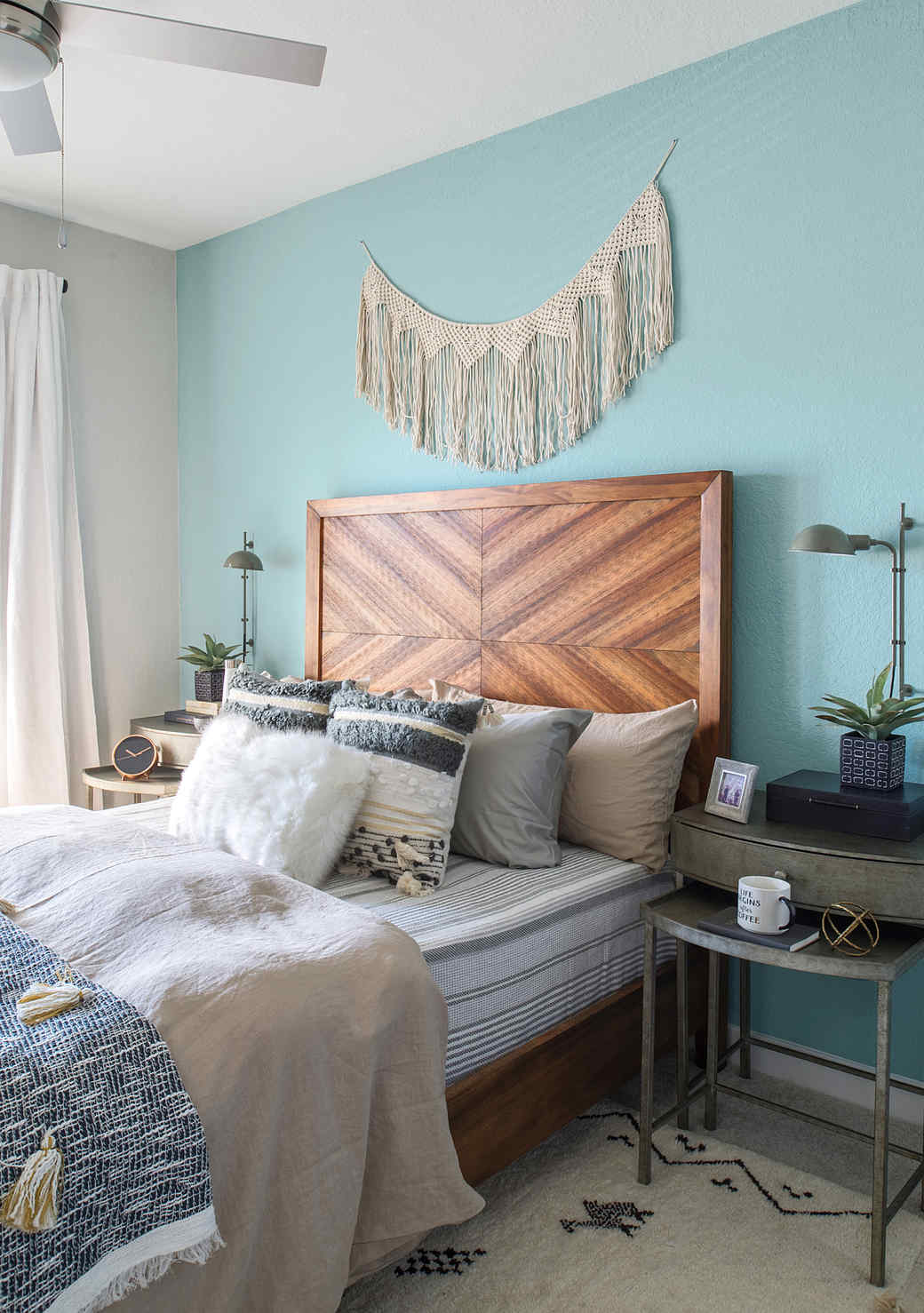 Beachy Boho Bedroom Vibes