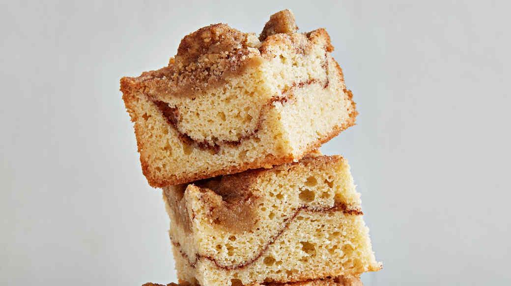 snickerdoodle crumb bars
