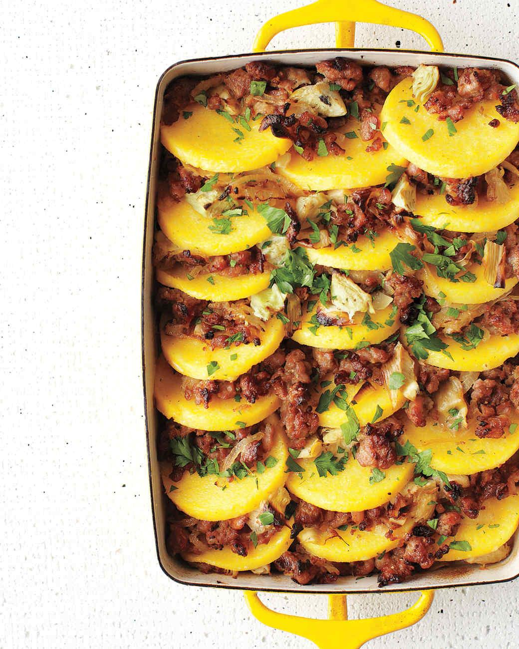 baked-polenta-sausage-artichoke-hearts-med108372.jpg