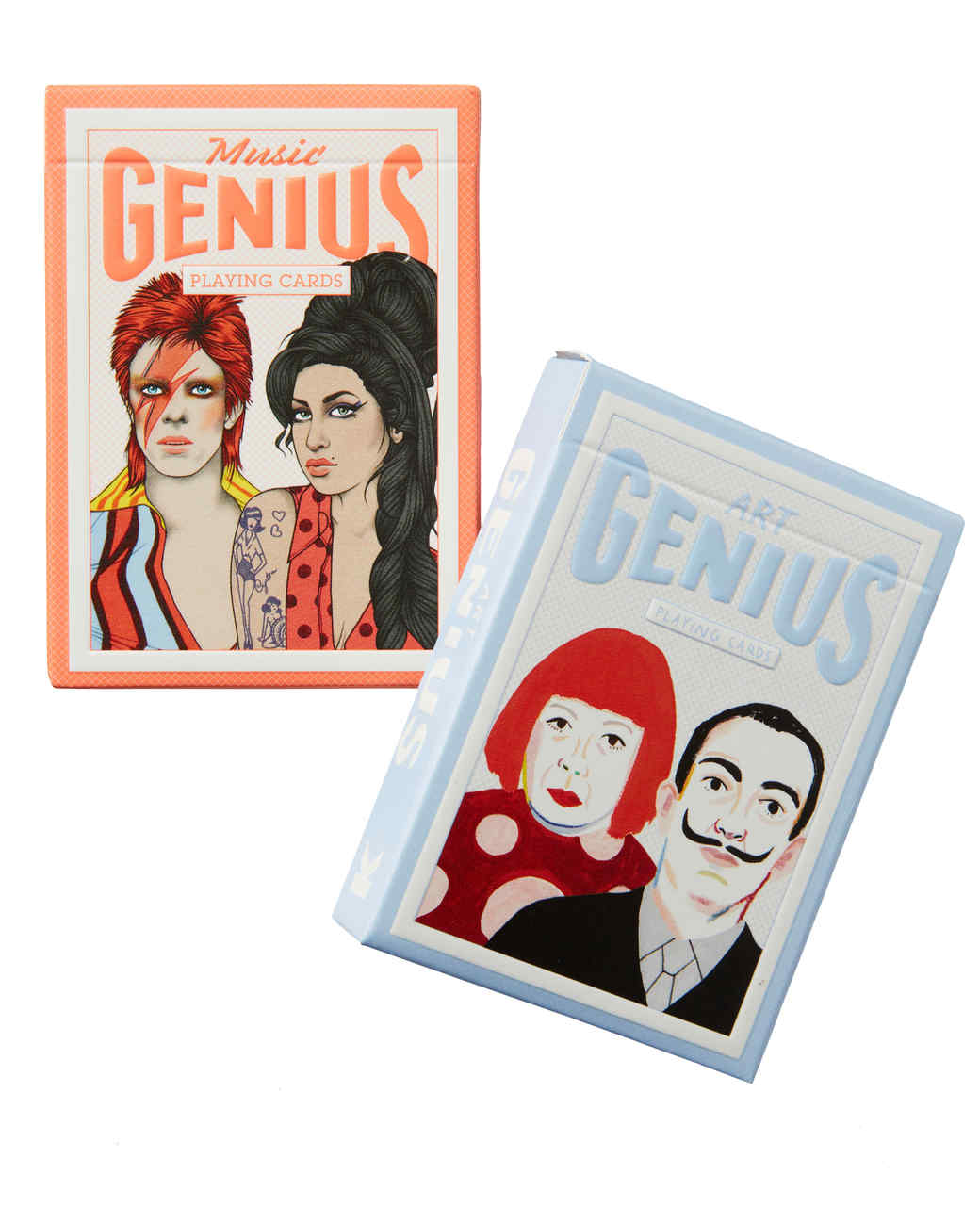 laurence king genius playing cards gift