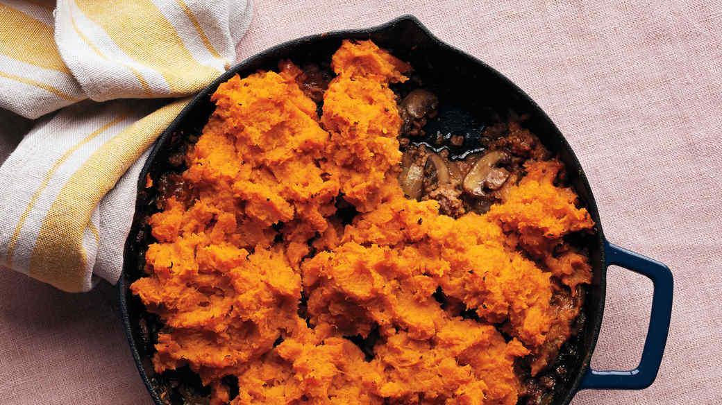 Sweet-Potato Shepherd's Pie
