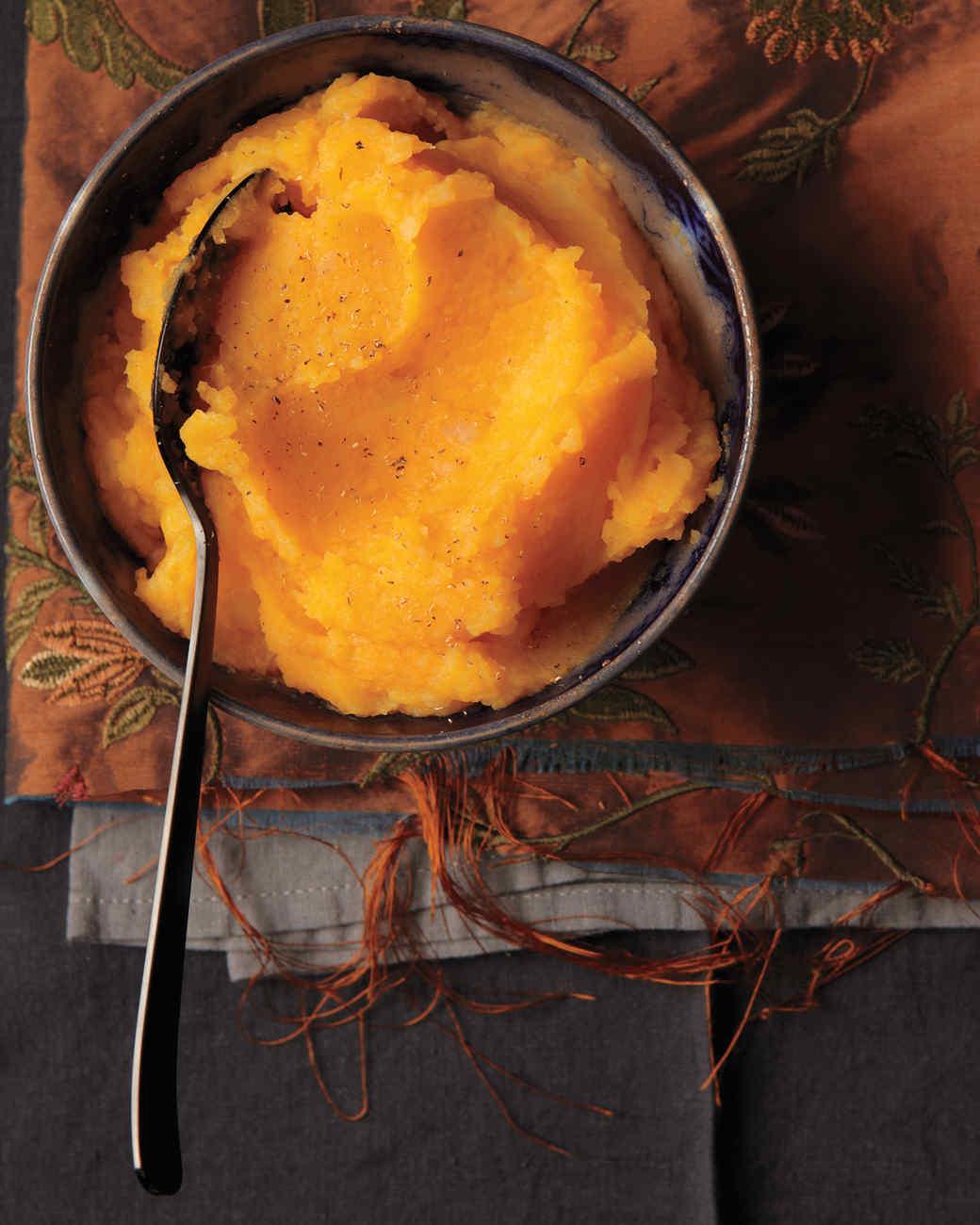 Squash-Spiked Mashed Potatoes