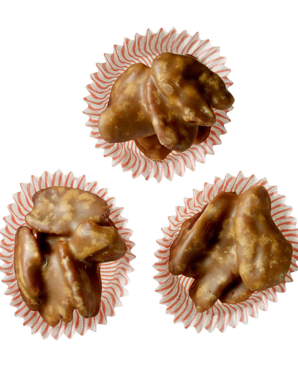 southern sour cream praline pecan candies
