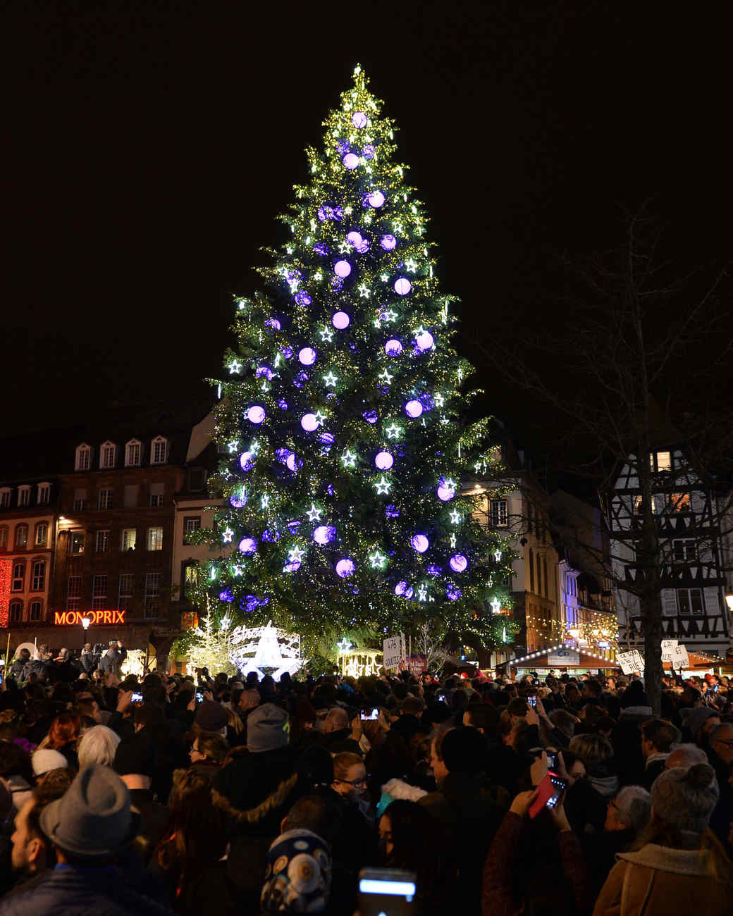 Strasbourg Market Christmas Tree 2016