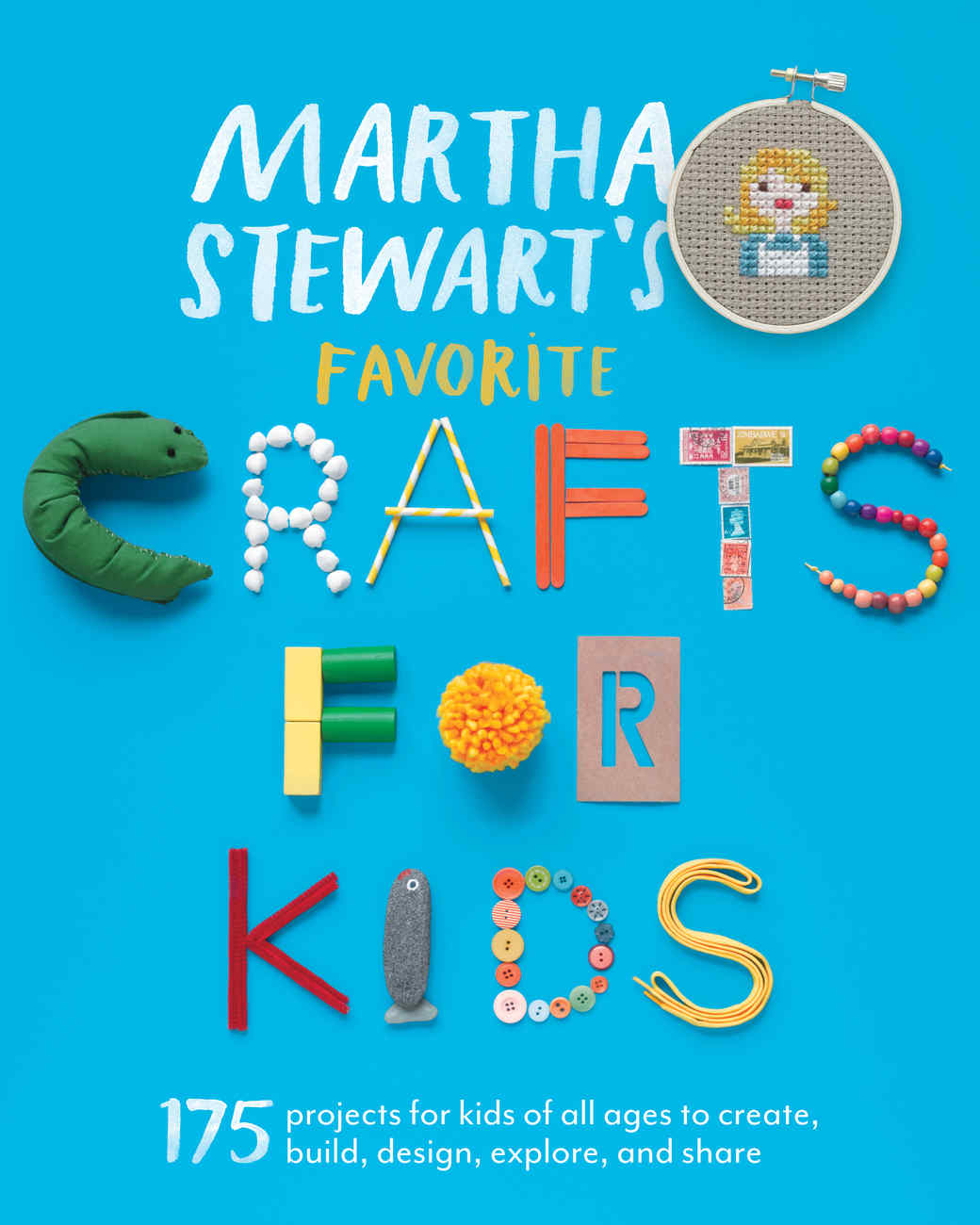 Martha stewart 39 s favorite crafts for kids martha stewart for Art and craft books for kids