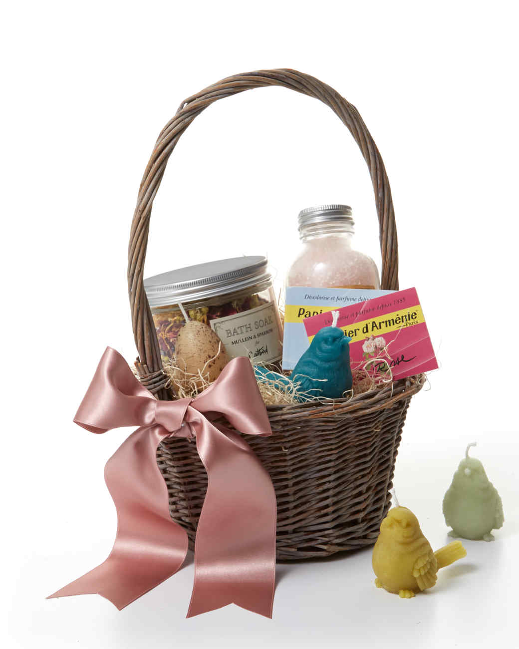 9 adorable easter basket ideas for toddlers martha stewart 8 luxurious easter basket ideas for adults negle Image collections