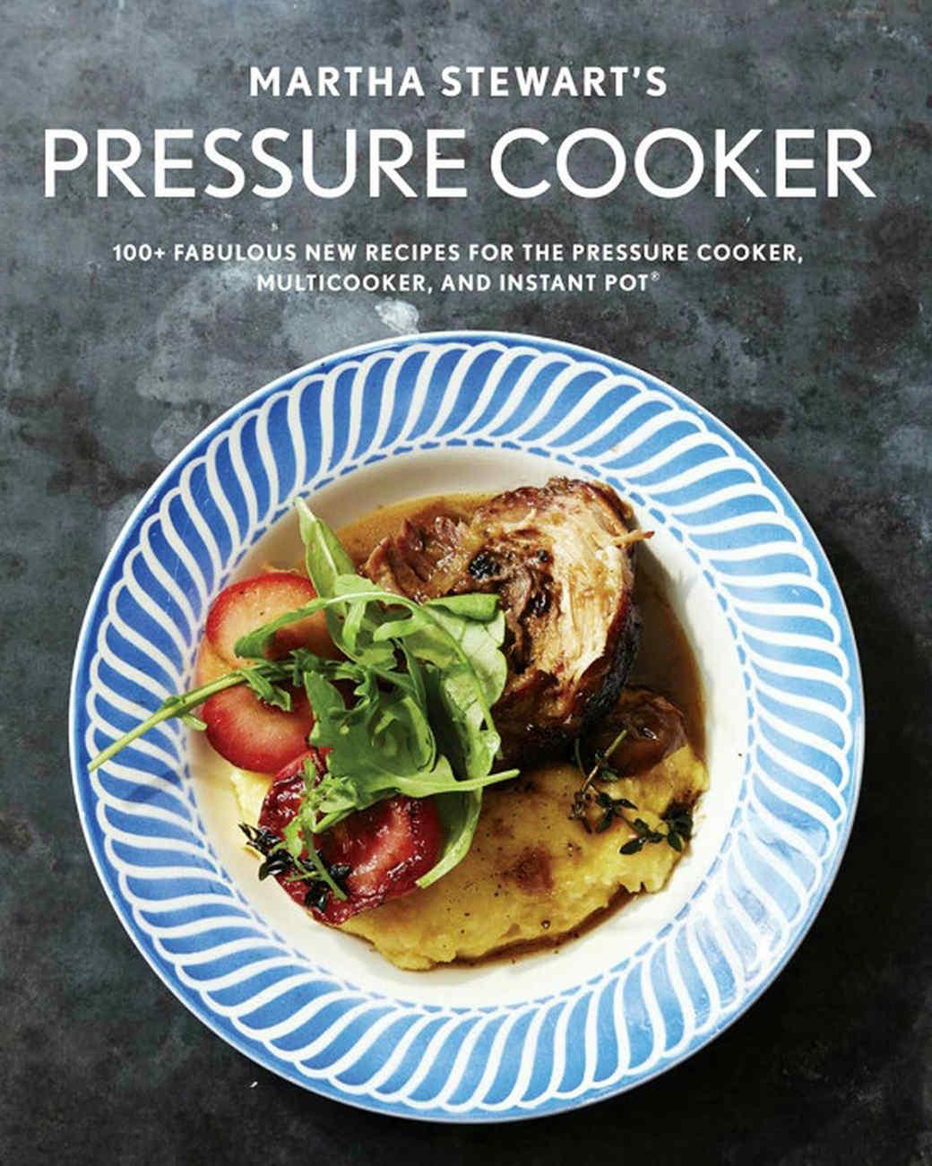 martha stewart's pressure cooker cookbook cover