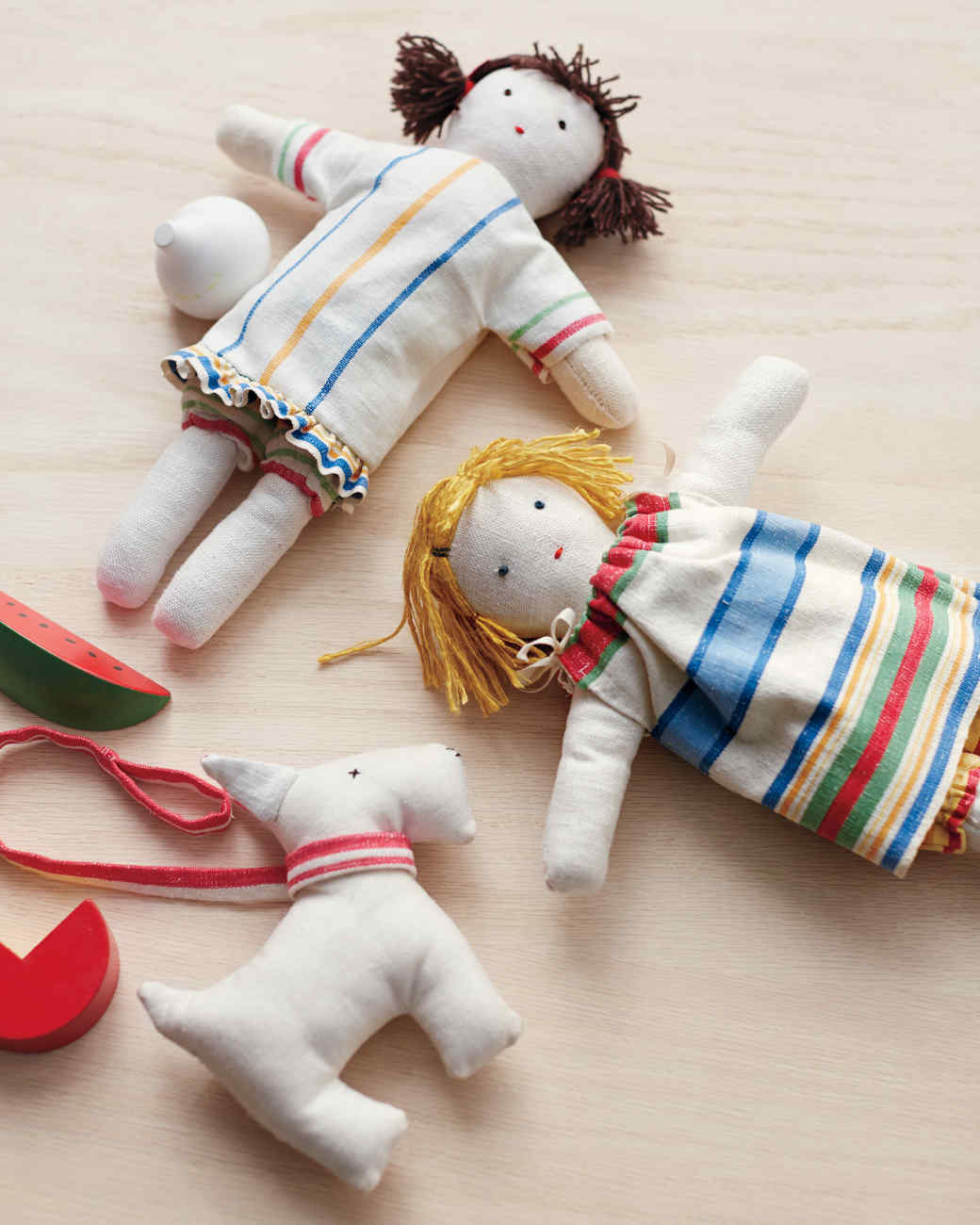 Tea Towel Doll