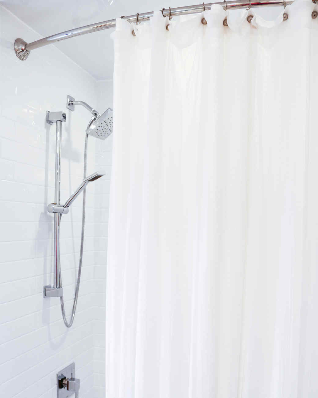 How often should i clean my shower curtain curtain for How often to clean bathroom