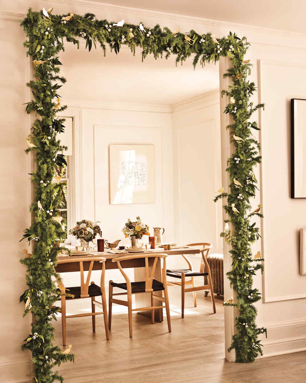 Door Garland & Door Garland | Martha Stewart