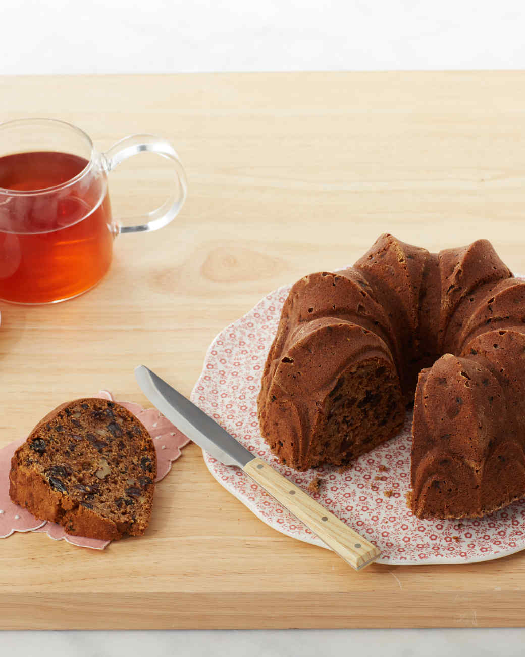 Applesauce Spice Bundt Cake