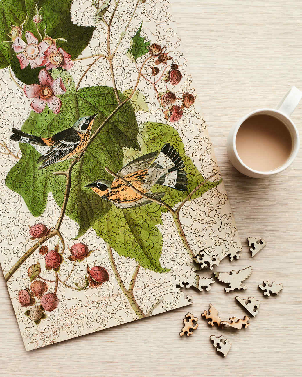 liberty wooden puzzle of a bird