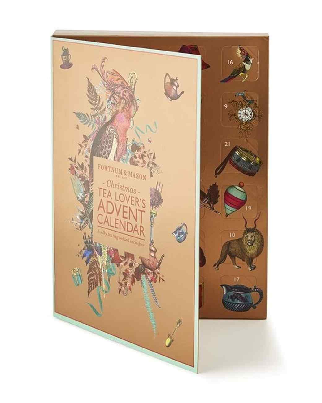 fortnum mason tea advent calendar