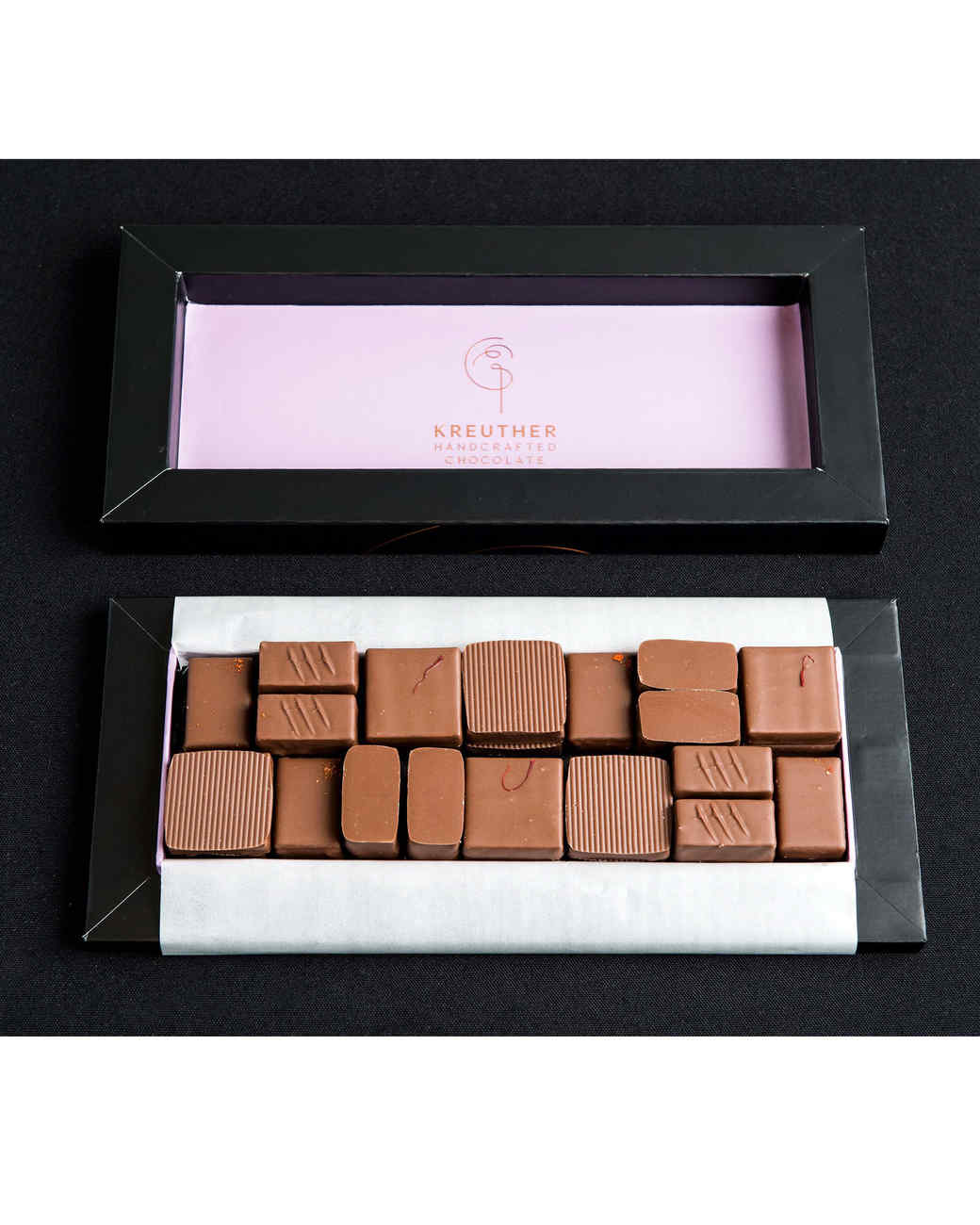 kreuther handcrafted choclate box gift box
