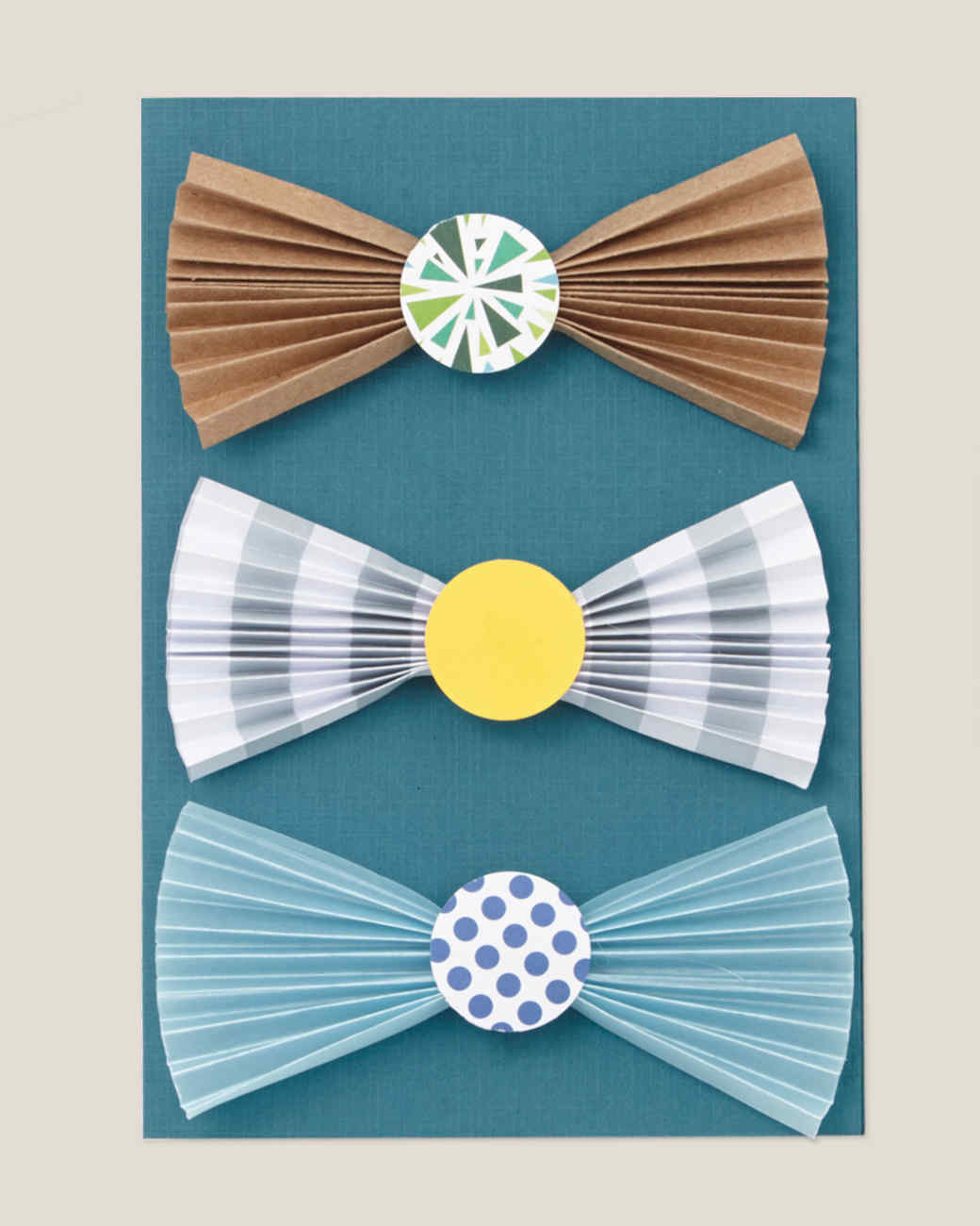 bow tie craft card fathers day
