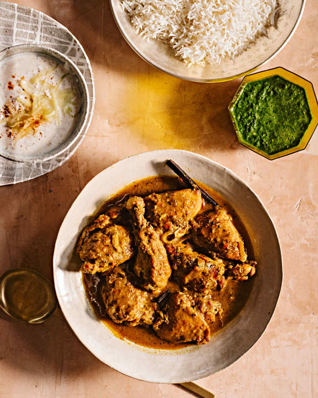 Chicken With Roasted Coriander In Coconut Curry Sauce Dakshini Murgh