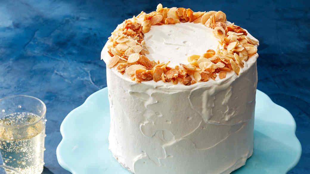 Almond-Crunch Ice Cream Cake