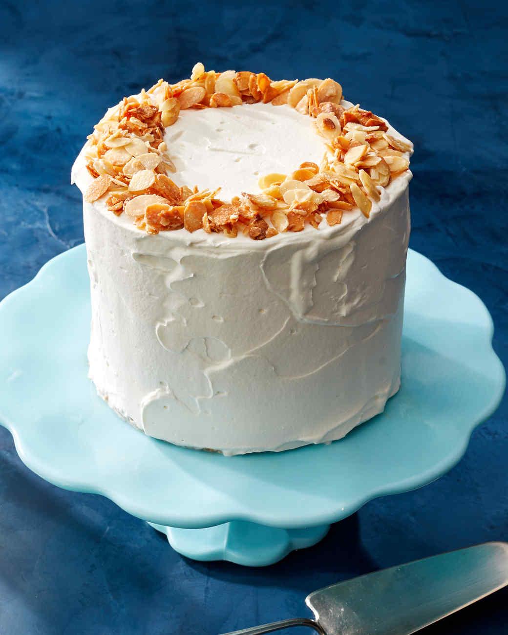 almond crunch ice cream cake martha bakes