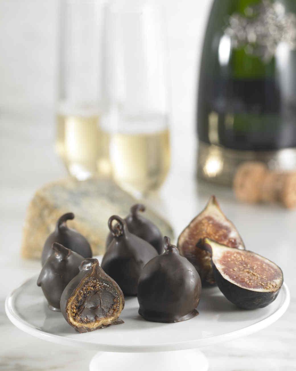 chocolate fig bonbons