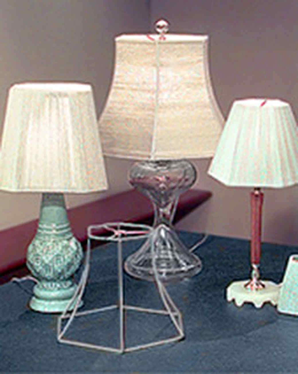 Yarn Lampshade