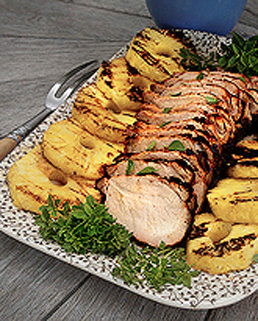 Fiery Asian Style Pork Loin Roast