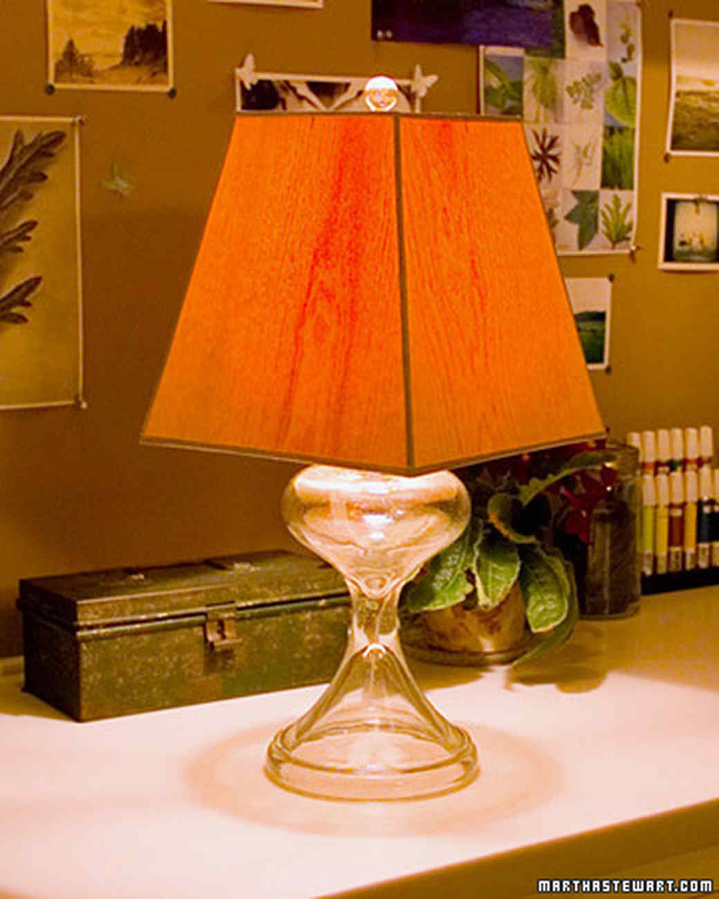 Wood Veneer Lampshade
