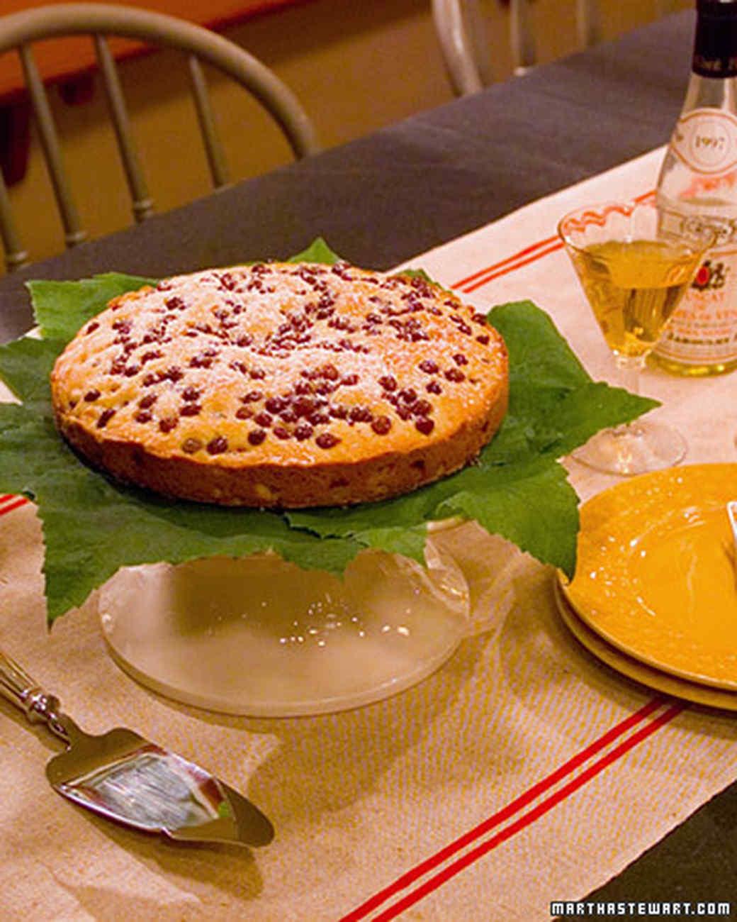 Winemakers' Grape Cake