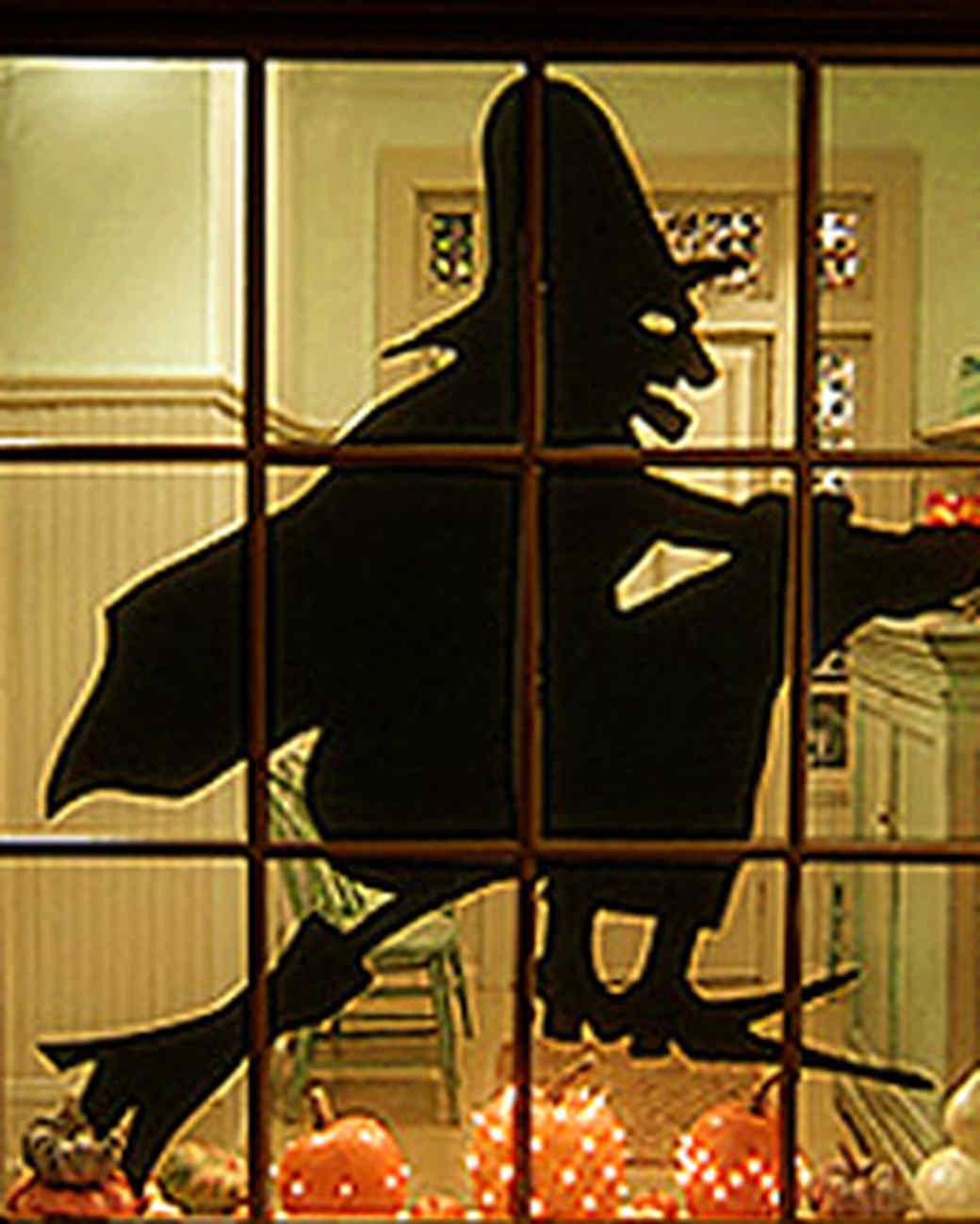 Witch Silhouette | Martha Stewart