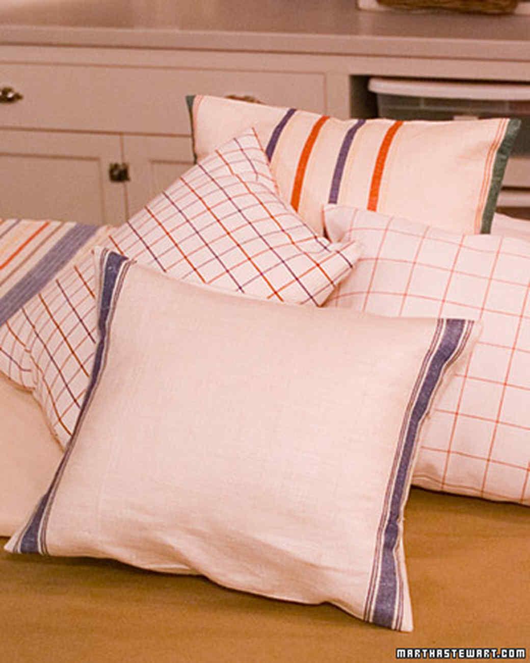 Tea-Towel Pillow