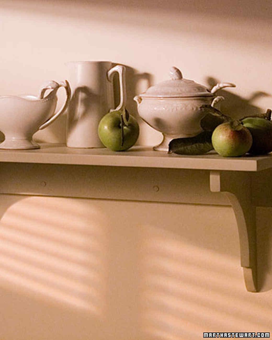 Building Shelf Brackets   Martha Stewart
