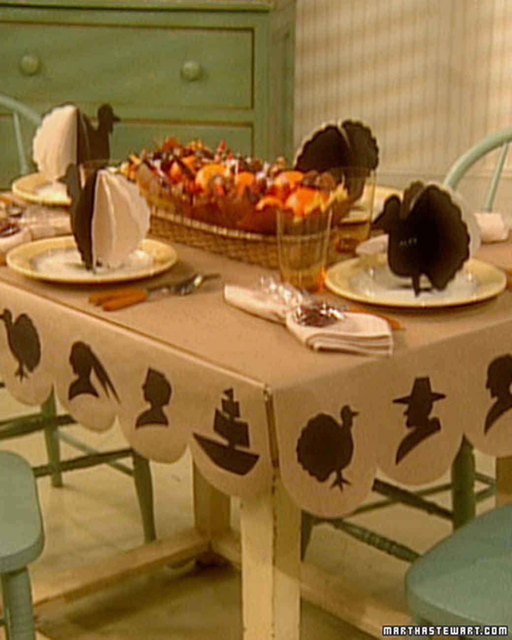 Thanksgiving Children's Table
