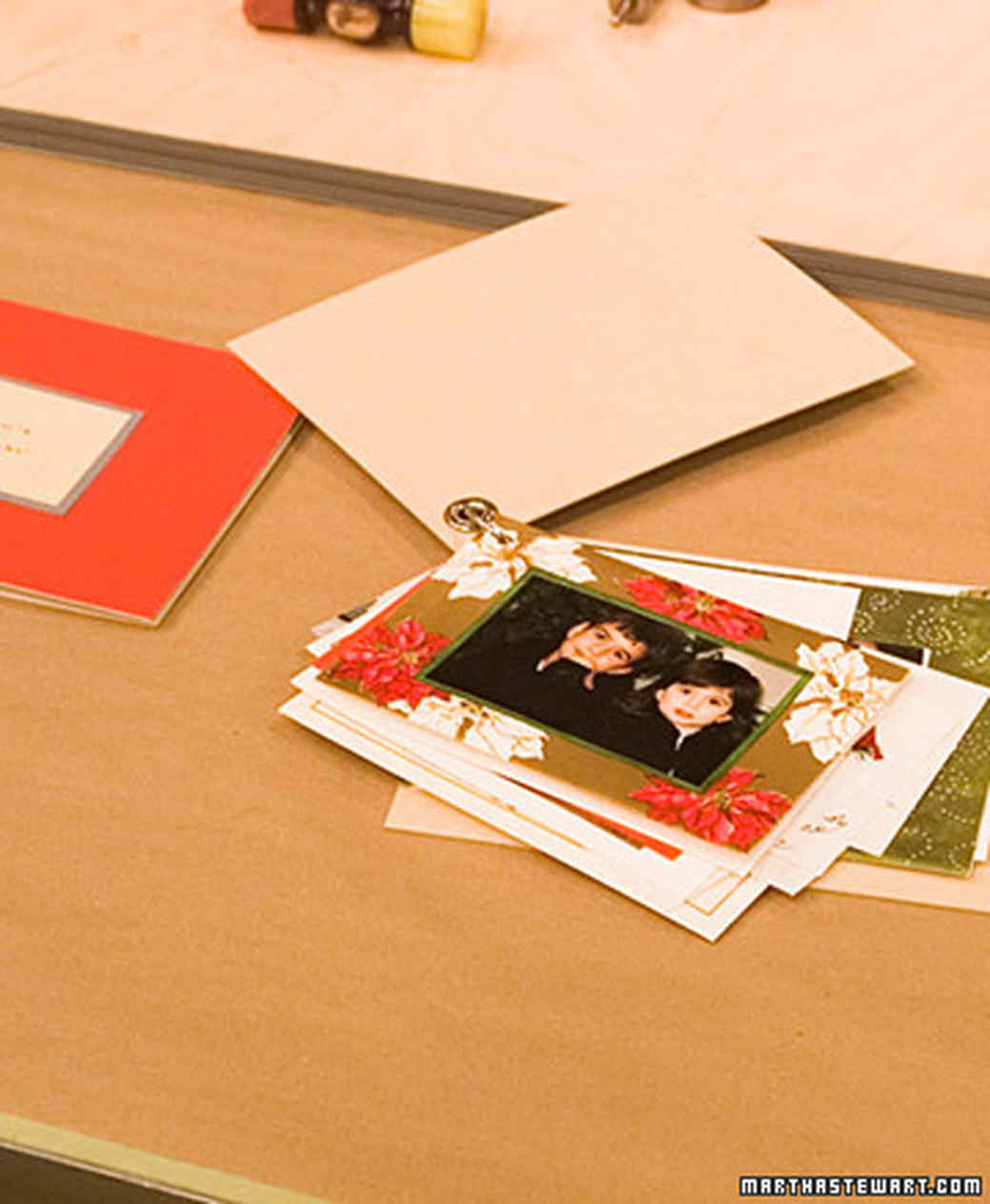 Holiday Card Scrapbook Martha Stewart