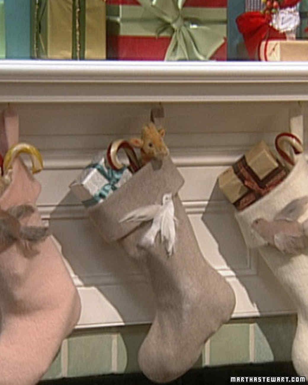 bird stockings martha stewart